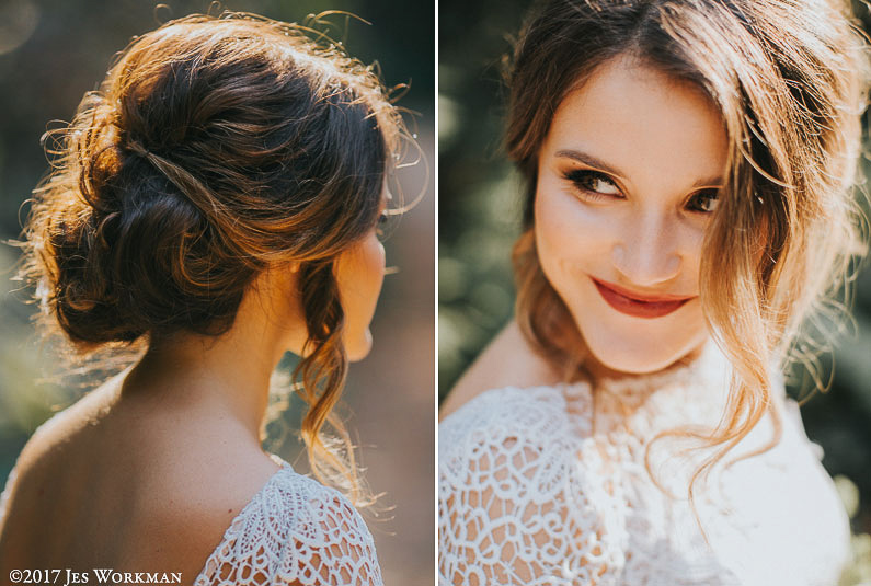 paso robles wedding hair