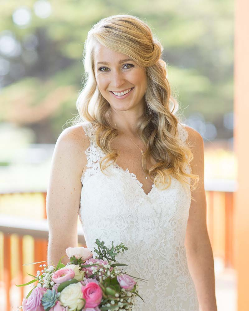 ragged point wedding hair